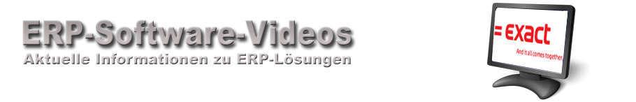 EXACT ERP Software Videos