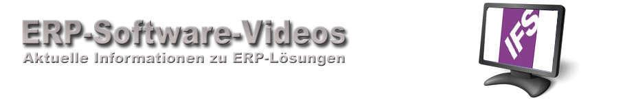 IFS ERP Software Videos
