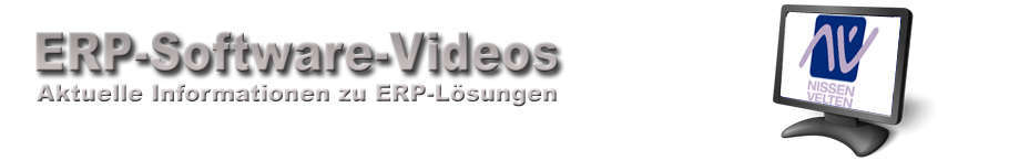 Nissen & Velten ERP Software Videos