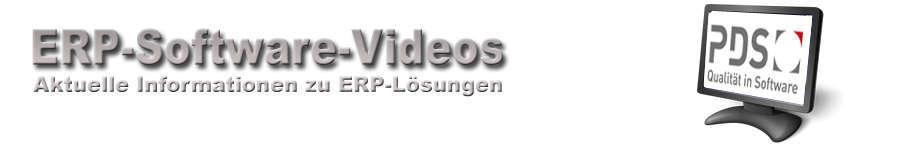 PDS ERP Software Videos