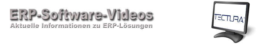 Tectura ERP-Software Videos