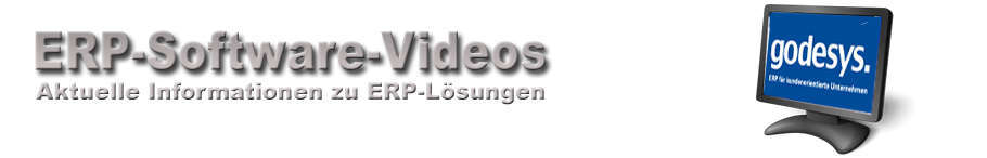 godesys ERP-Software Videos