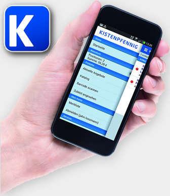 Kistenpfennig Handy App