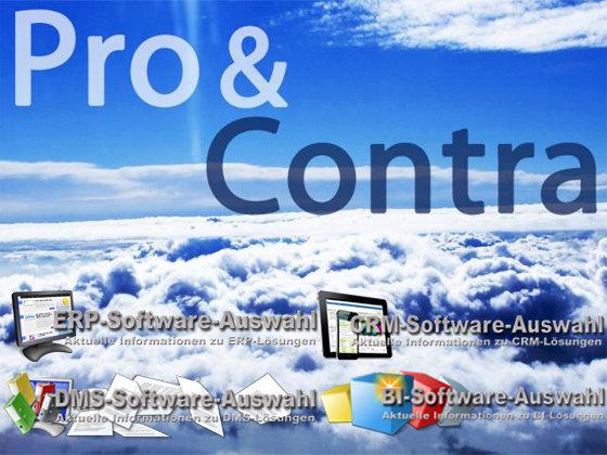 Pro Contra Cloud ERP CRM DMS ECM BI
