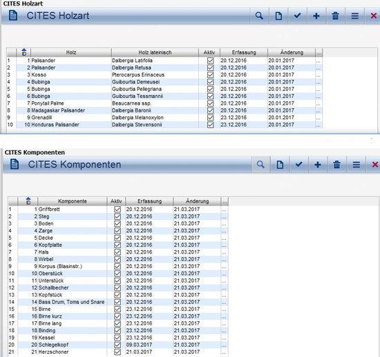 CITES Screen eNVenta