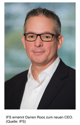 Darren Roos CEO IFS