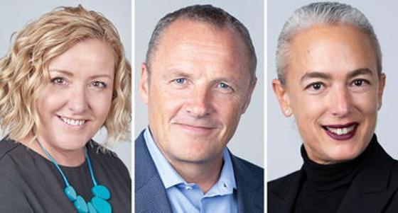 Von links nach rechts Jane Keith Christian Pedersen Milena Roveda (Quelle IFS)