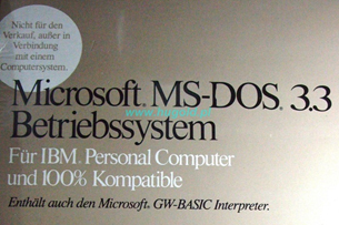 MS DOS 3.3